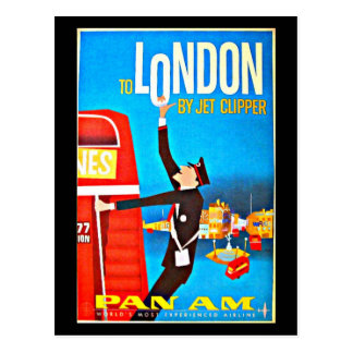 Postcard-Vintage Travel-London Postcard