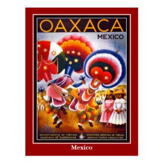 Postcard Vintage Travel Mexico Oaxaco