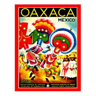 Postcard-Vintage Travel-Oaxaca
