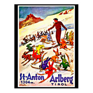 Postcard-Vintage Travel-Tirol Postcard