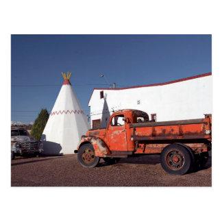 Postcard Wigwam Motel Holbrook Arizona