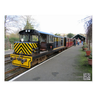 Postcard With Diesel Engine