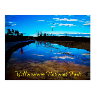 Postcard Yellowstone National Park