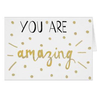 "Postcard ""You of acres amazing """
