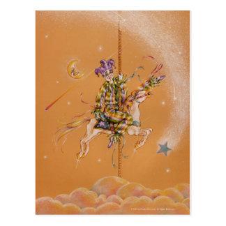 Postcards - Carousel Jester