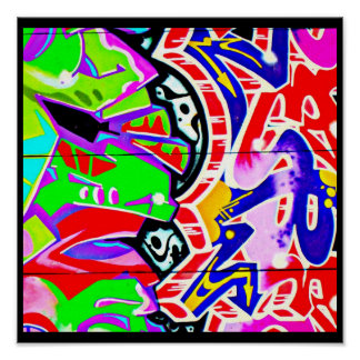 Poster-Abstract Misc-Graffiti Gallery 23