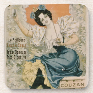 Poster advertising Brault Natural Mineral Water f Drink Coaster