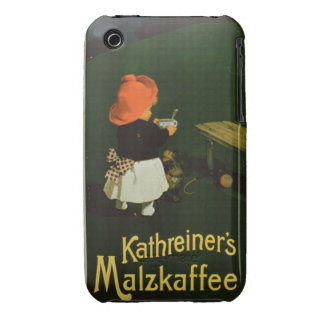Poster advertising for 'Kathreiner's Malt Coffee' iPhone 3 Covers