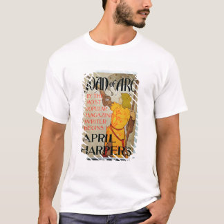 Poster advertising 'Joan of Arc' in April Harper's T-Shirt