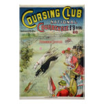 Poster advertising the opening of Coursing