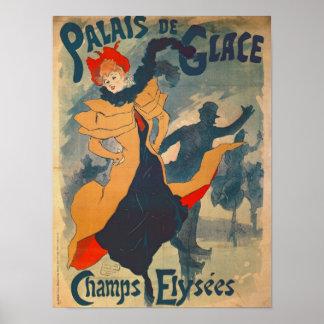 Poster advertising the Palais de Glace