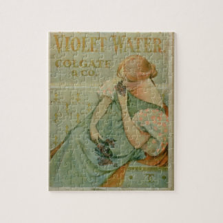 Poster advertising 'Violet Water', by Colgate & Co Puzzle