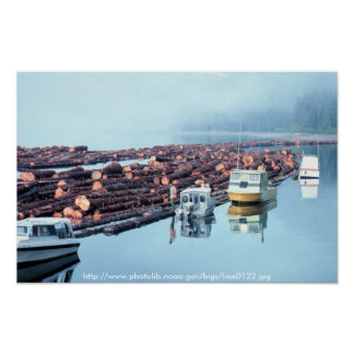 Poster / Alaska Logging