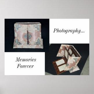 Poster/Antique Photo Album/Memories Poster