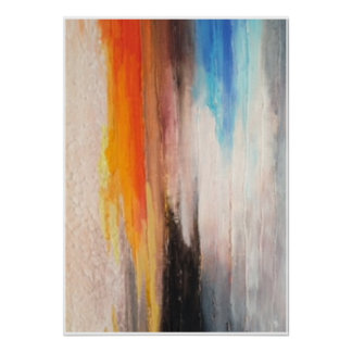 Poster Art texture Abstract