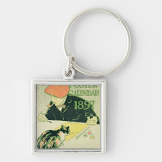 Poster Calendar, pub. by R.H. Russell & Son, 1897 Keychains