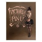 POSTER/CANVAS PRINT ·  victorian pinup