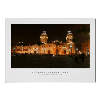 Poster Cathedral of Peru