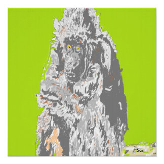Poster Chimpanzee