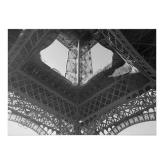Poster--Eiffel Tower Base Poster