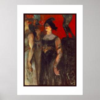 Poster Famous Artists Henri de Toulouse Lautrec Print