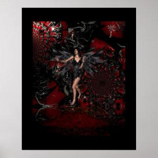 Poster Fantasy Art Magical Faeries