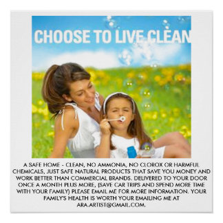 POSTER FOR CLEAN HOME ENVIRONMENT-CHILDREN