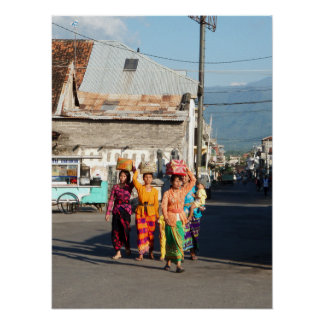 "Poster full (18"" x 24"") Singaraja Bali Indonesia"