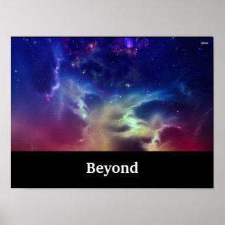 Poster galaxy 40.64x30.48cm