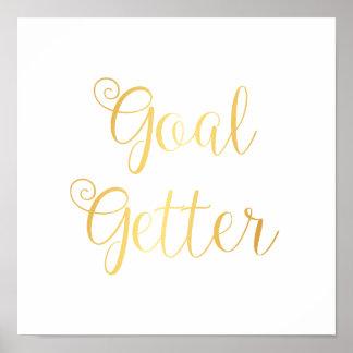 Poster - Goal Getter