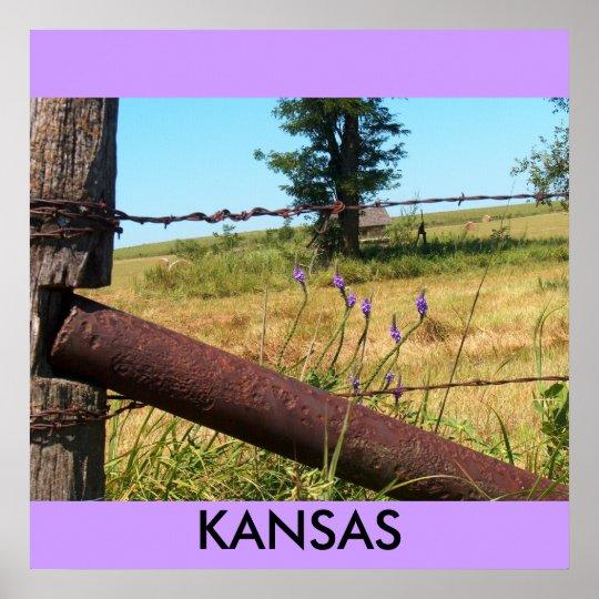 Poster/Kansas/Flint Hills Poster