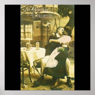 Poster-Love Art-Alt Heidelberg 1907 Poster