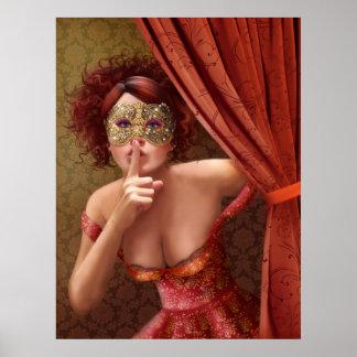 """Poster """" Masquerade"""""""