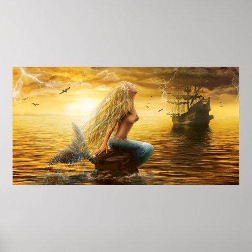 Poster Mermaid