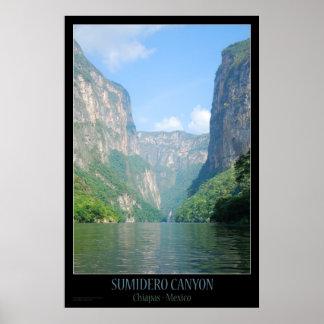 Poster | Mexico - Sumidero Canyon