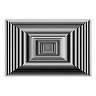 Poster - Mild optical illusion