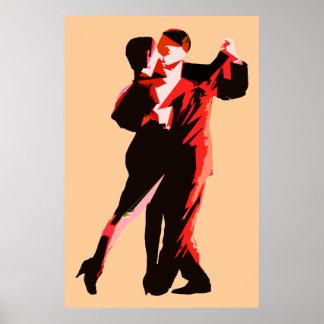 poster modern3 red