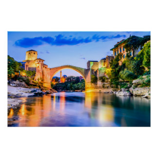 Poster, Mostar Poster