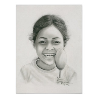 Poster of a Cambodian Girl 1 by Vannak Anan Prum
