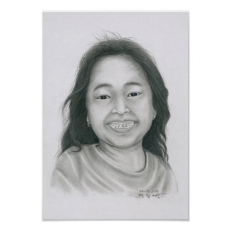 Poster of a Cambodian Girl 3 by Vannak Anan Prum