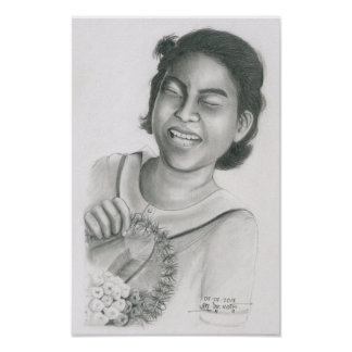Poster of a Cambodian Girl 4 by Vannak Anan Prum