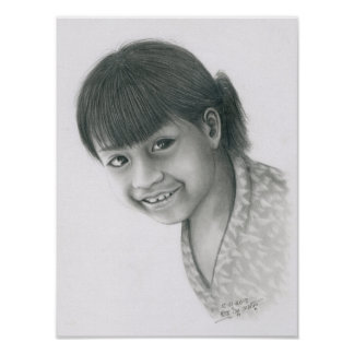Poster of a Cambodian Girl 5 by Vannak Anan Prum