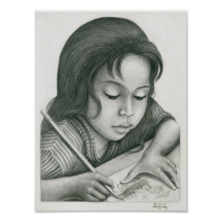 Poster of a Cambodian Girl 8 by Vannak Anan Prum