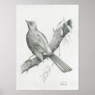 Poster of Cambodian Bird 1 by Vannak Anan Prum