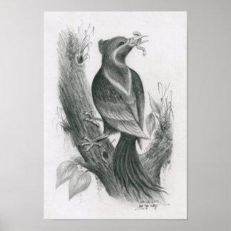 Poster of Cambodian Bird 3 by Vannak Anan Prum