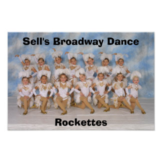 Poster of Sell's Broadway Dance Rockettes
