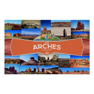 Poster of the Arches National Park