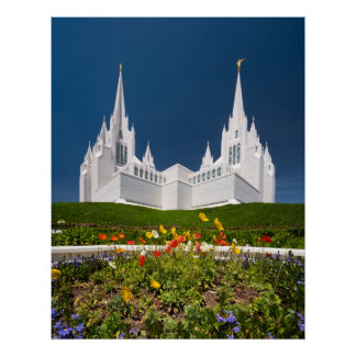 Poster of the San Diego LDS Temple
