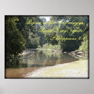 Poster - Philippians 4:4