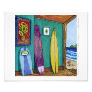 Poster Photo Paper - Sunflowers By The Sea